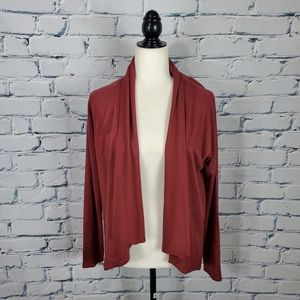 Athleta Red Cardigan